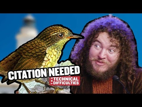 Stephens Island Wren and the Cobra Effect: Citation Needed 6x03