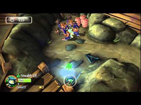 Skylanders Giants: Legendary Stealth Elf - Minefield Mishap