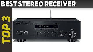 ✅ Best Stereo Receiver 2021 - Top 3 Stereo Receiver
