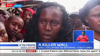 Two killed after wall collapses in Industrial Area, Nairobi