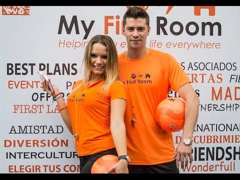 Azafatos y Azafatas Mundial de Fútbol con MyFirstRoom | Madrid