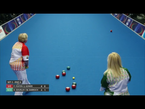 Just. 2019 World Indoor Bowls Championships: Day 8 Session 4 (видео)