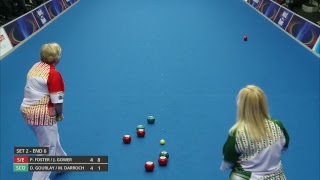 Just. 2019 World Indoor Bowls Championships: Day 8 Session 4