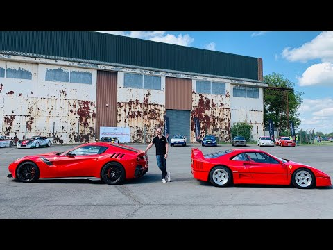 Meeting Supercar Heroes In My Ferrari F12 TDF!