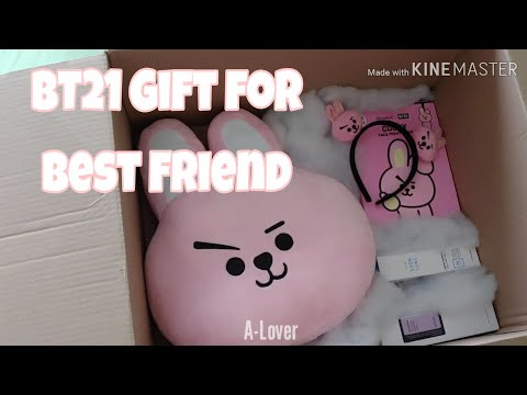 Preparing a BTS - BT21 related Gift for my Best Friend 20 min before she arrives