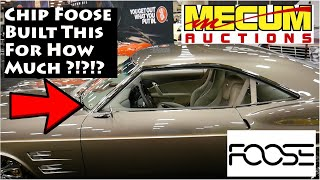 First Time At The Mecum Car Auction! - Foose Designs 1965 Impala Impostor