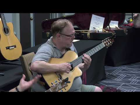 National Fingerstyle Guitar Champion Richard Smith show of his skills