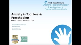 Anxiety in Toddlers & Preschoolers with COVID-19 Specific Tips