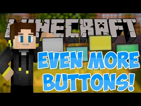 EVEN MORE BUTTONS MOD! - Mod Showcase & Review - FORGE 1.7.10 MOD