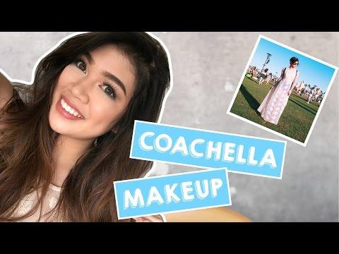 GRWM: Coachella Makeup Tutorial ft. Maybelline   Janina Vela