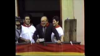 preview picture of video 'Fiestas de Cáseda  1989 - El cohete-'