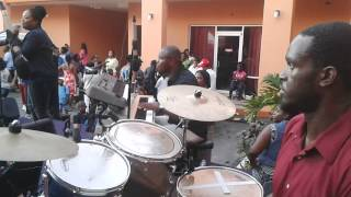 Praise Session At Back To School Give Away