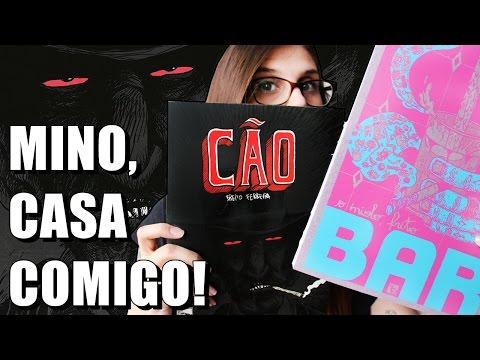 CÃO (Breno Ferreira) e BAR (O Miolo Frito) | QUADRINHOS