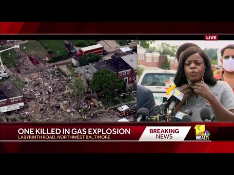 UPDATE: 1 dead, 6 hospitalized in Baltimore explosion