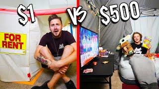 $1 VS $500 FORTS! *Budget Challenge*