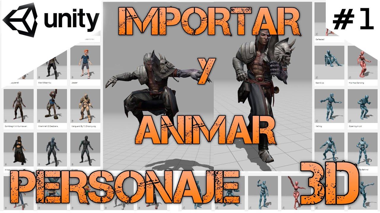 Importar y animar un personaje 3D/Unity Tutorial 2020