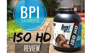 BPI Sports: ISO HD Protein Review | Best Protein for WEIGHT-LOSS?