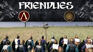 "Wolf ""Friendlies""- Hammer and Anvil (Ft. Gorgo's ""Machine Gun"" Skirmishers)"