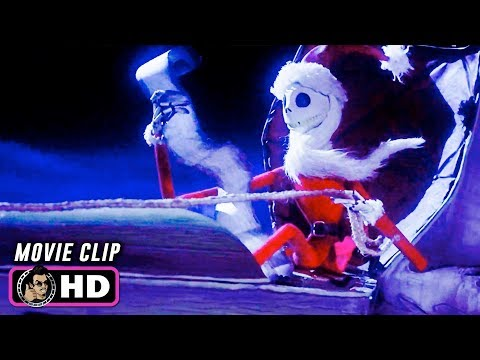 THE NIGHTMARE BEFORE CHRISTMAS Clip - Shot Down (1993) Disney