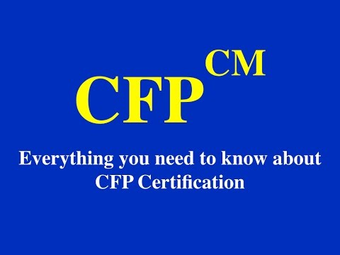 Everything you need to know about CFP Program! - YouTube