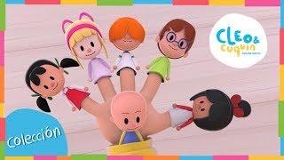 FAMILIA DEDO y más Canciones. Cleo & Cuquín I Familia Telerín. Canciones Infantiles (30 minutos)