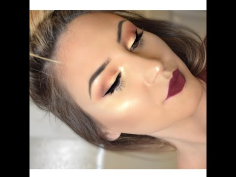 AUTUMN GLOW BY MAKEUP GEEK TUTORIAL