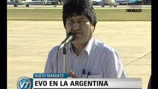 Visión Siete Evo Recuerda Como Un Padre A Kirchner Al Llegar A La Argentina