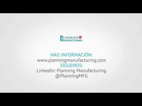 Invitación Planning Manufacturing Day