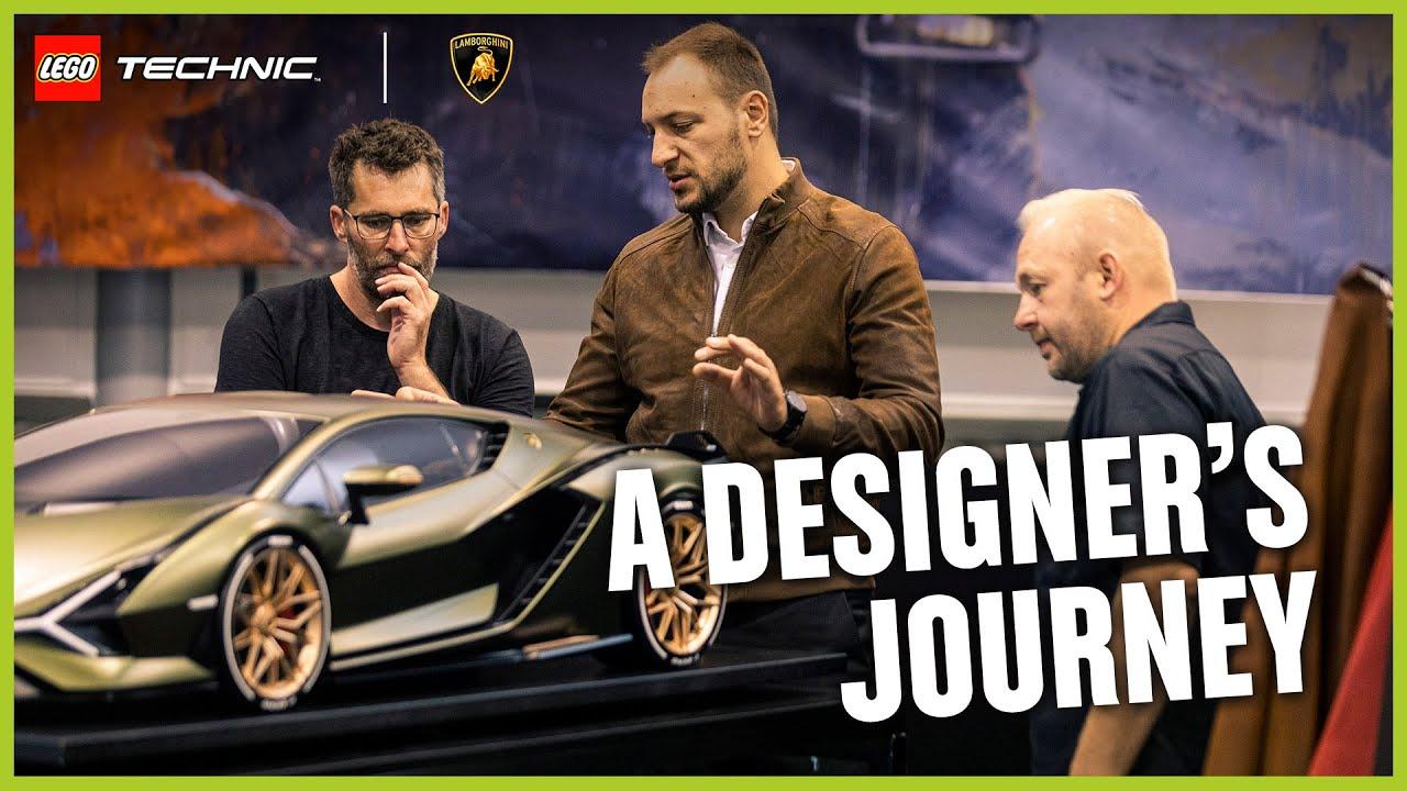 The Creation of the Lamborghini Sián FKP 37 LEGO® Technic