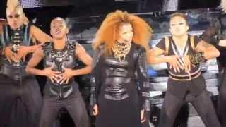 Janet Jackson BURNITUP! Nasty/Feedback/Miss You Much LA Forum