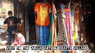 Visit to the Abuja Arts and Crafts Village