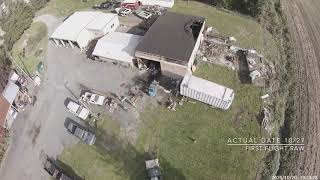 FIRST FPV FLIGHT AFTER SHOP FIRE OCTOBER 27th 2020