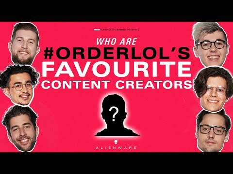 Who's Your Favourite Content Creator? | #ORDERLOL