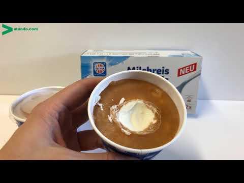 Milchreis-Eis Zimt im Becher von RIVA