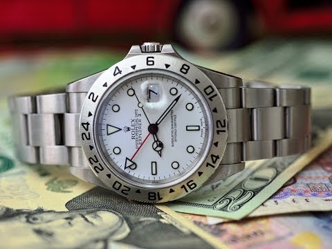 Best watch for a nasty vicious Investment Banker - ROLEX EXPLORER or MILGAUSS ?