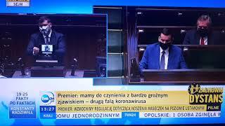 Morawiecki i PiS zmasakrowani w sejmie!