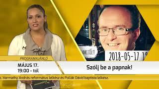 Programajánló / TV Szentendre / 2018.05.10.