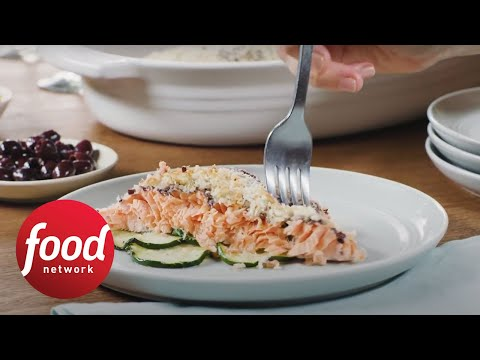 Slow-Roasted Salmon with Breadcrumbs | Food Network