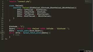 Bài 43: Viết API trả dữ liệu thể loại theo chủ đề