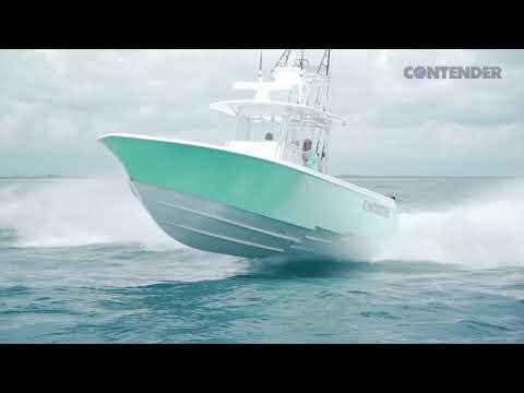 Contender 39 ST video