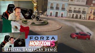 REACCIONANDO A FORZA HORIZON 5 MÉXICO | TRAILER OFICIAL E3 | Con la Talennncrew