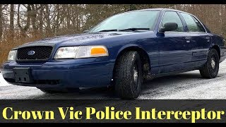 Worlds Greatest Car Ever The Crown Victoria Police Interceptor