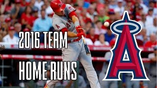 Los Angeles Angels of Anaheim | 2016 Home Runs (156)