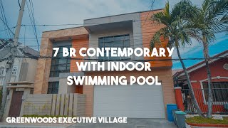 Contemporary House With 7 Bedrooms And Indoor Pool In Greenwoods Exec. Village, Pasig | Vlog # 52