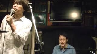 ラブ・ストーリーは突然に小田和正イントロは映画「男と女」フランシス・レイbyリバーポンドこと池田のりあきVo&ピアノ即興詩人かわせひろしPf