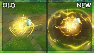 All Amumu Skins Old And New Visual Effects Vfx Update 2019  League Of Legends