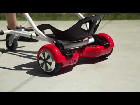 Hoverboard go kart - Absolute Fun! Turn your hoverboard in go kart or speed buggy
