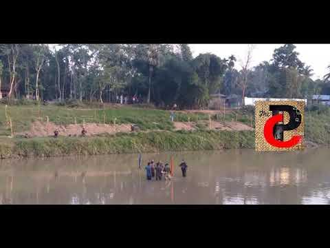 ত্রিপুরায় ভারত-বাংলাদেশ সীমান্তে উত্তেজনা, সাব্রুমে  ফেনী নদীতে ফ্ল্যাগ মিটিং