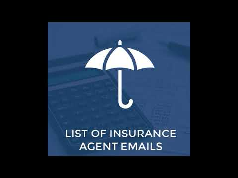 mp4 Insurance Agent Email List, download Insurance Agent Email List video klip Insurance Agent Email List
