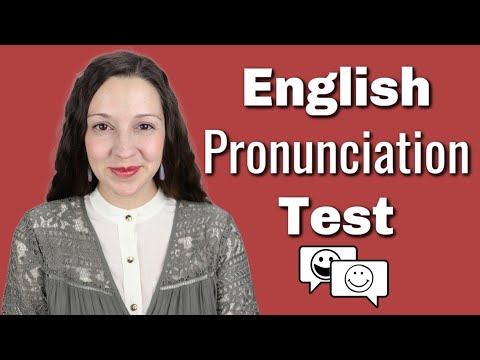 Download English Pronunciation Test Mp4 HD Video and MP3